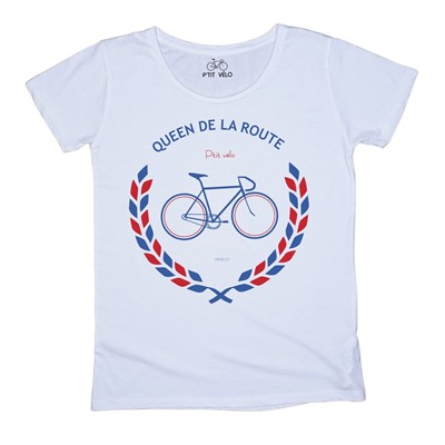 Queen de la route - T-shirt - blanc