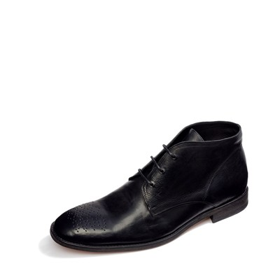 FÉRON PARIS Chukka - Bottines en cuir - noir