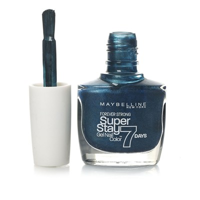 GEMEY MAYBELLINE Super Stay 7 days - Vernis à ongles - 835 Metal me teal