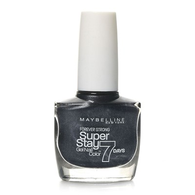 GEMEY MAYBELLINE Super Stay 7 days - Vernis à ongles - 815 Carbon grey