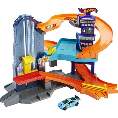 MATTEL HW City - Coffret ville - multicolore