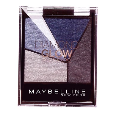 GEMEY MAYBELLINE Diamond Glow by Eye Studio - Ombres à paupières - 03 Blue Drama