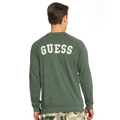 GUESS Back to L.A - Sweat-shirt - vert