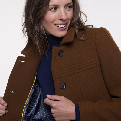 Coat Laine Manteau En Trench And M 51nqRxIpFw