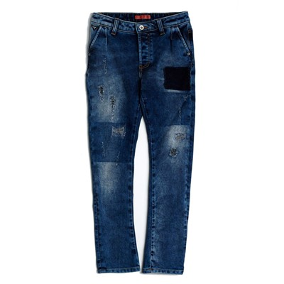 GUESS KIDS Jean droit - denim bleu