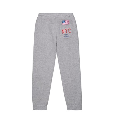 Tony Parker - Pantalon jogging - gris chine
