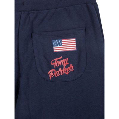 WAP TWO Tony Parker - Pantalon jogging - bleu marine