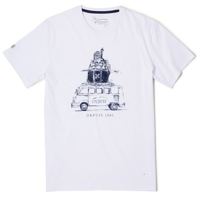 OXBOW Tartane - T-shirt - blanc