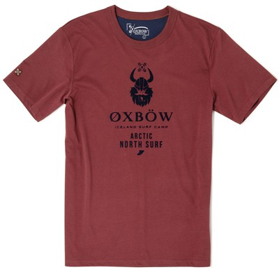 OXBOW Safor - T-shirt - bordeaux
