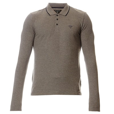 GUESS Gustav - Polo - charbon