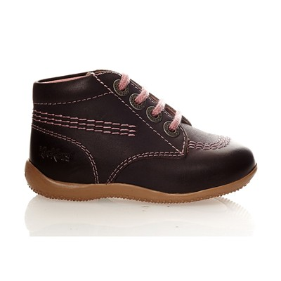 KICKERS Billy - Bottillons en cuir - violet