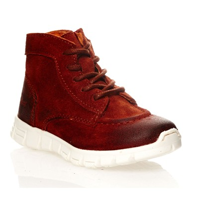 KICKERS Marcelo - Sneakers en cuir - bordeaux
