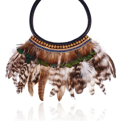 Indien - Collier - multicolore