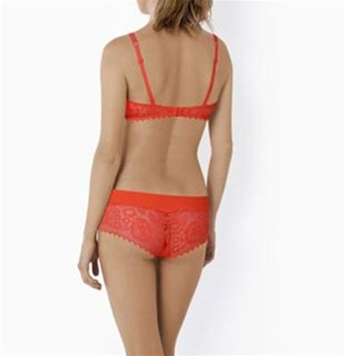 VARIANCE Fabuleuse - Soutien-gorge coque galbe rond - coquelicot