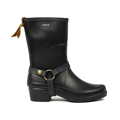 AIGLE Miss Julie - Bottillons - noir