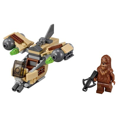Wookiee gunship star wars - Jeu de construction - multicolore