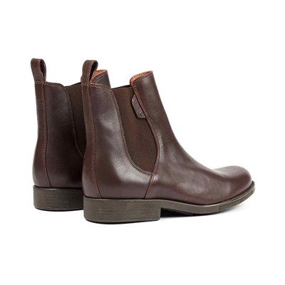 AIGLE Orzac - Bottines en cuir - marron