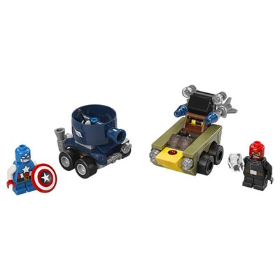 Figurines Captain America et Red Skull - multicolore
