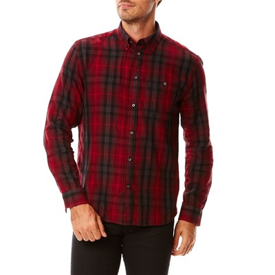 WRANGLER Button-Down - Chemise - rouge