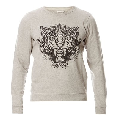BEST MOUNTAIN Sweat-shirt en coton mélangé - gris