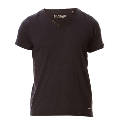 BEST MOUNTAIN T-shirt en coton - noir