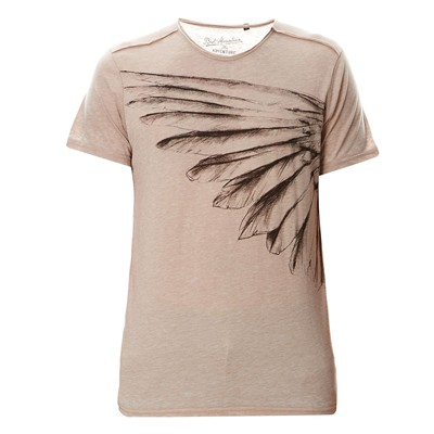 BEST MOUNTAIN T-shirt en coton mélangé - taupe