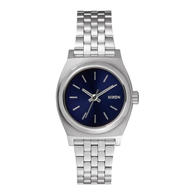 Small time teller - Style casual - Argent / Bleu saphir