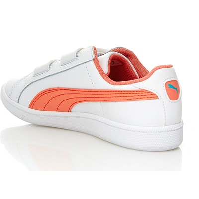 PUMA Smash Fun - Baskets en cuir - blanc