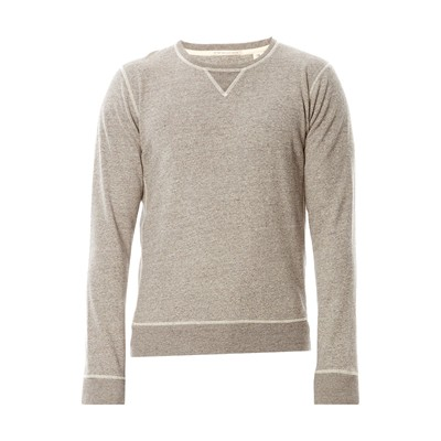 SCOTCH & SODA Sweat-shirt en coton - gris