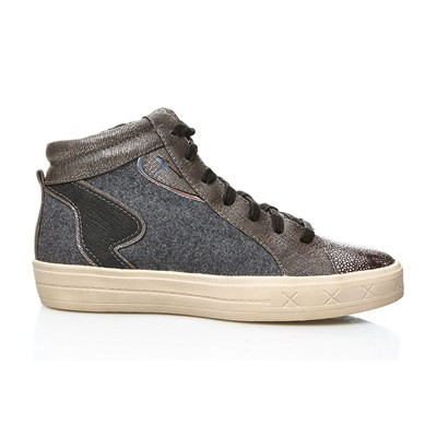TAMARIS Marras - Baskets montantes - anthracite