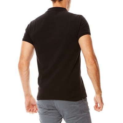 SCOTCH & SODA Polo en coton - noir