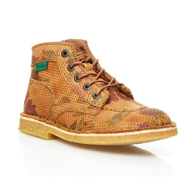 KICKERS Kick Legend - Bottillons en cuir - camel