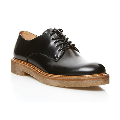 OXFORK - Derbies en cuir - noir