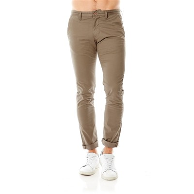 TEDDY SMITH Pantalon chino - vison