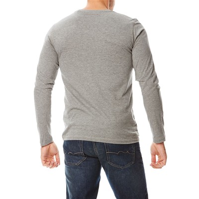 TEDDY SMITH Ticlass - T-shirt - gris chine