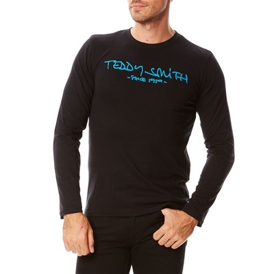 TEDDY SMITH Ticlass - T-shirt - bleu