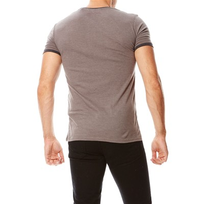 TEDDY SMITH Tristan - T-shirt - gris