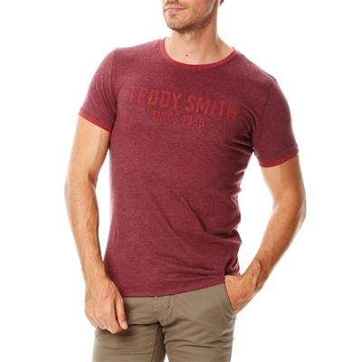 TEDDY SMITH Tristan - T-shirt - vin