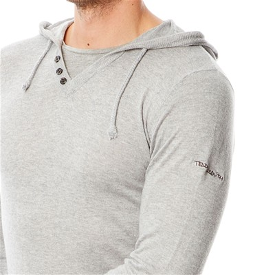 TEDDY SMITH Primo - Pull - gris chine