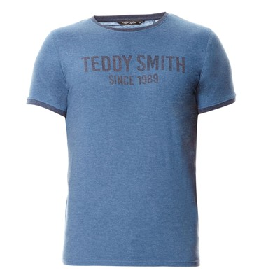 TEDDY SMITH Tristan - T-shirt - bleu délavé
