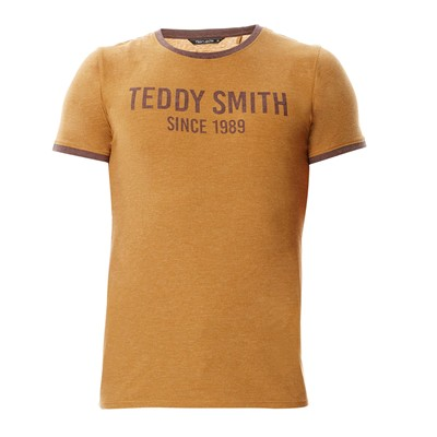 TEDDY SMITH Tristan - T-shirt - tabac