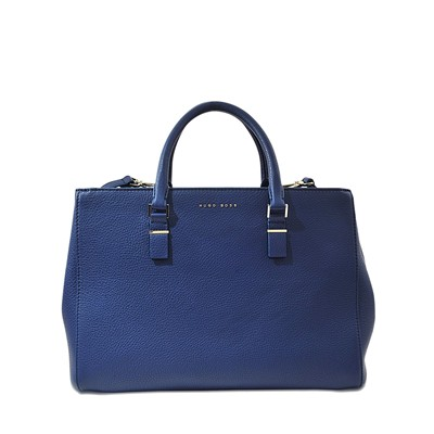 Luxury Staple M-C - Sac cabas en cuir - bleu