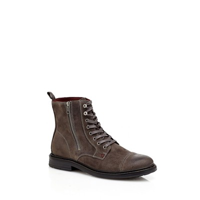 Jeremy - Bottines en cuir - gris