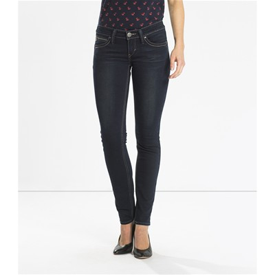Revel Low - Jean skinny - denim bleu