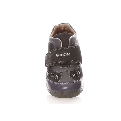 GEOX B EACH - Baskets montantes - gris