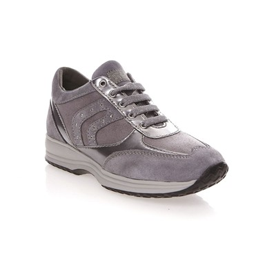 GEOX HAPPY - Baskets - gris