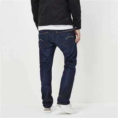 G STAR 3301 straight - Jean droit - denim bleu