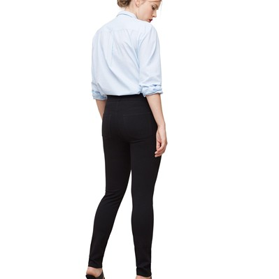 VIOLETA BY MANGO Legging - denim noir