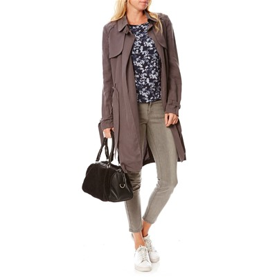 NAF NAF Barbie - Trench - gris