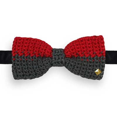 Noeud papillon en crochet - multicolore